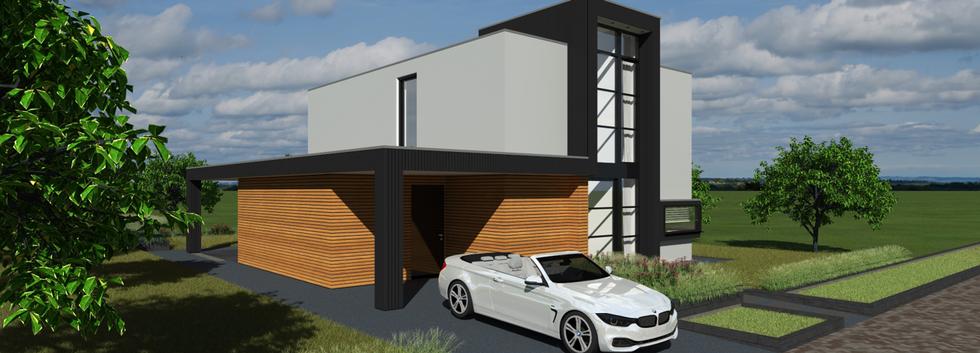 Duurzame moderne villa DGV Group