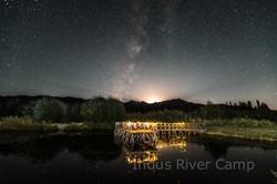 Moonrise at our Ladakh Camp