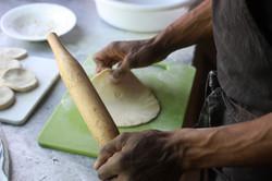 Chapati making