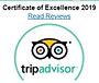 Tripadvisor Certificate of Excellence 20