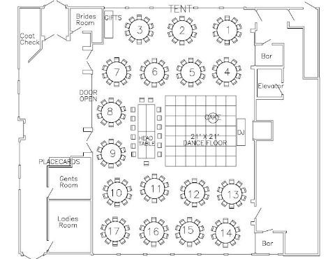 What Makes A Good Floor Plan By Neil Smith The Dandy Dj And Photo Booth Murfreesboro Wedding Event