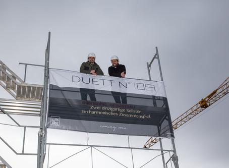 DUETT №09 - Baustellenbegehung mit den Käufern
