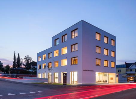 """Eröffnungsfeier """"201843 - Haus am Winzersteig"""""""