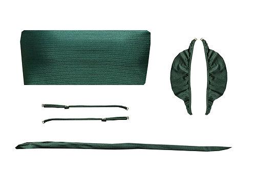 Top Faixa - Verde Militar Texturizado