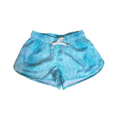 Shorts Feminino Estampado - Estampa Mar de Arraial