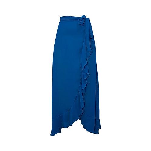 Saída Pareô Lisa - Classic Blue