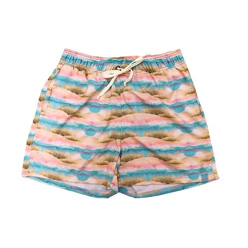 Shorts Masculino Estampado - Estampa Areias