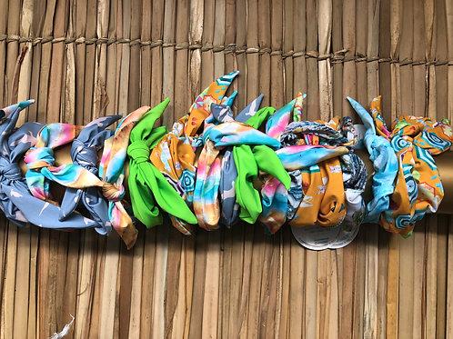 Scrunchies Ave Marinha - Coelção Lagos + Basic