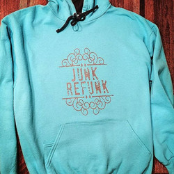 Junk Refunk hoodies are now available fr