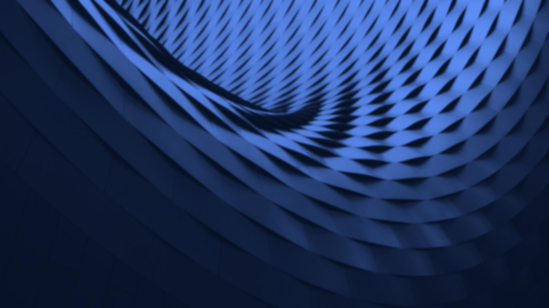 Dark Blue Shapes