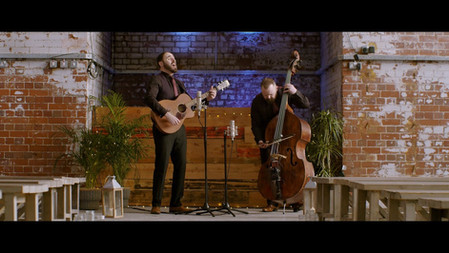 Lee Gordon Duo Showreel | Double bass and Acoustic guitar