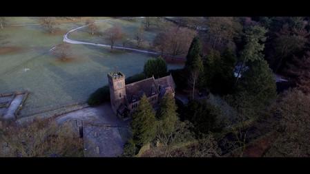 Inside Swythamley Chapel, Staffordshire
