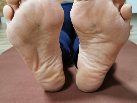 Übersäuerung an den Fußsohlen erkennbar?