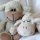 teddy bear, lamb, smiles