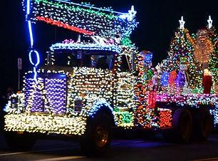 lights on semi truck