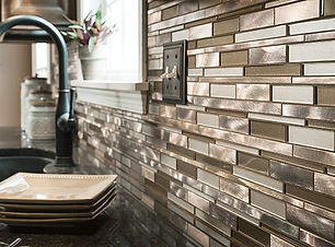 wall tile, kitchen, remodel