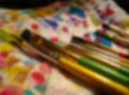 paint brushes, art, color