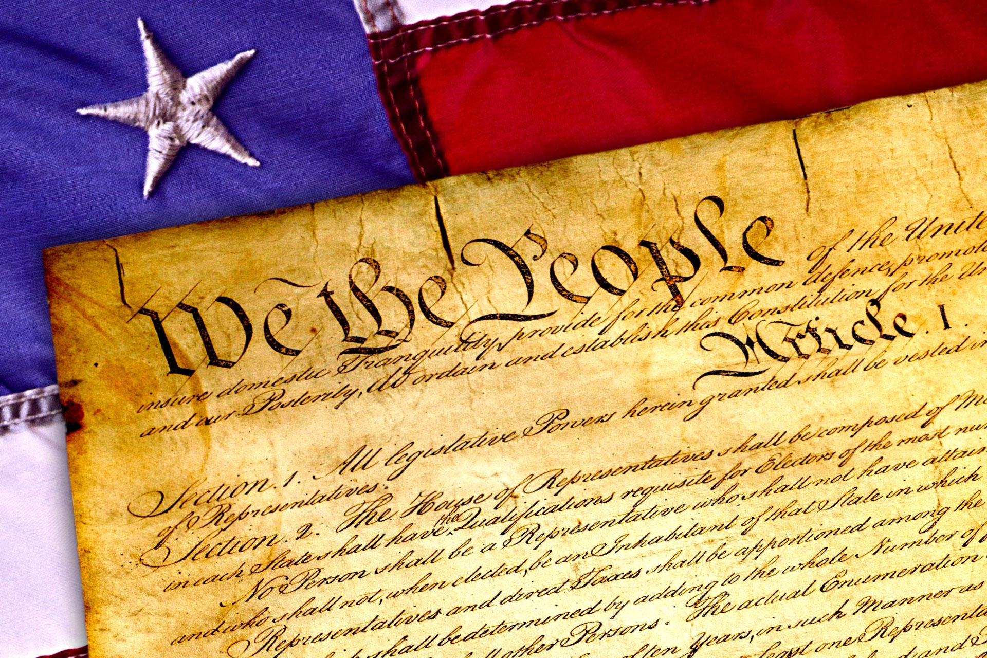US Constitution, We the People