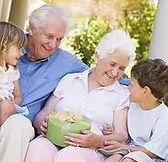grandparents, happy family