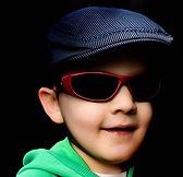 boy in sunglasses