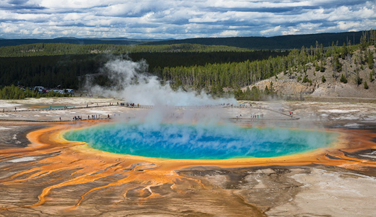 Yellowstone, paint pot