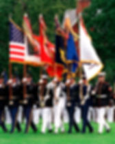Armed Forces, flags, military