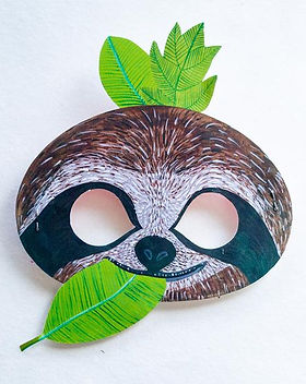 sloth, mask