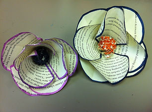 crafts, paper, flowers
