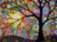 art, tree, colorful