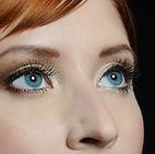 blue eyes, woman
