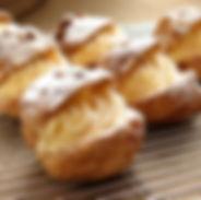 cream puffs, oven