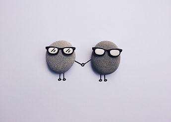 explore, rocks, glasses