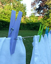 laundry, clothes pin, dry