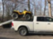 ATV, ramp