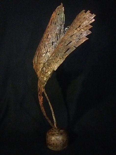 claudine borsotti sculpture metal cuivre