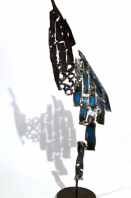 Envol bleu - maquette