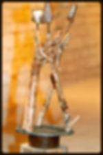 Claudine Borsotti sculpture exposition Gordes
