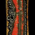haut relief sculpture bois metal couleur claudine borsotti sculpteure