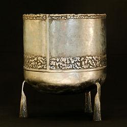 bol sonore sculpture métal claudine borsotti apt luberon provence