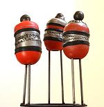 Sculpture métal et silicone claudine borsotti
