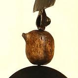 sculpture metal et bois claudine borsotti