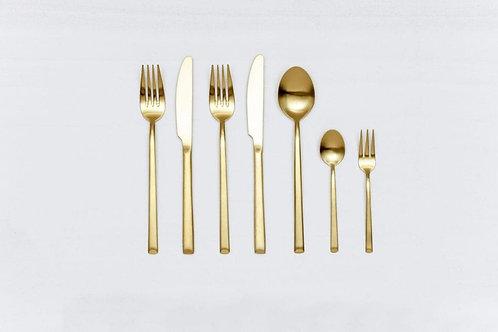 Besteck GOLD, 7-teilig