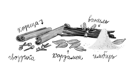 2019 - Signorina Cinnamon by Luigi Ballerini, published by KompasGid, Moscow