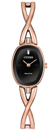 Citizen Watch Bracelet Rose Gold Tone Stainless Steel Part # 59-S06559