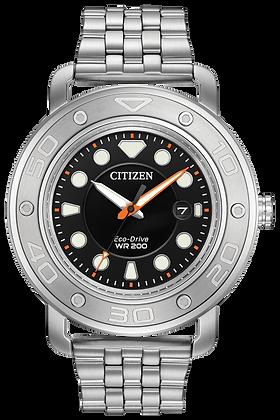 Citizen Watch Bracelet Silver Tone Stainless Steel Part # 59-S06636