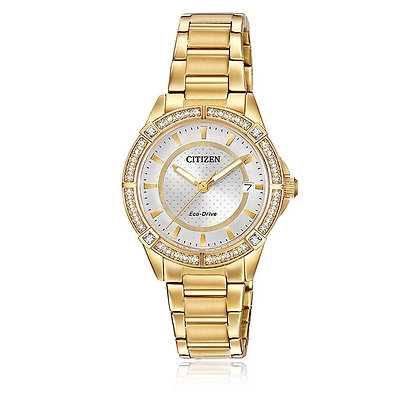 Citizen Watch Bracelet Gold Tone Stainless Steel Part # 59-S06606
