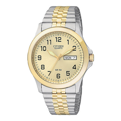 Citizen Watch Bracelet Two Tone Stainless Steel Expansion Part # 59-S03582
