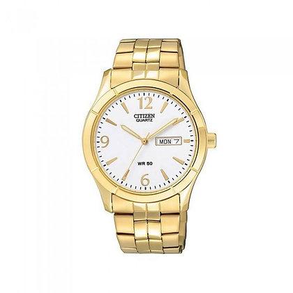 Citizen watch Bracelet Gold Tone Stainless Steel Part # 59-BI1032-58A