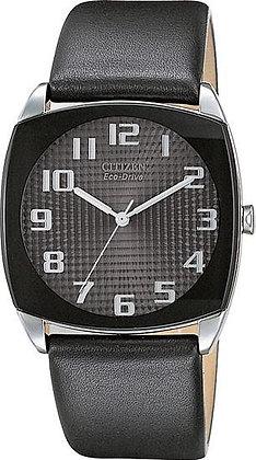 Citizen Watch Strap Black Leather 21 MM Part # 59-S50253