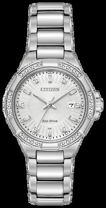 Citizen Watch Bracelet Silver Tone Stainless Steel Part # 59-S06975